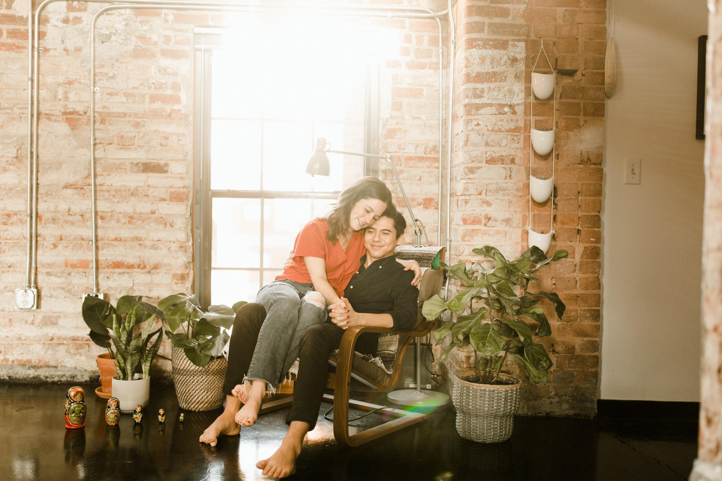 Atlanta-in-home-engagement-photographer