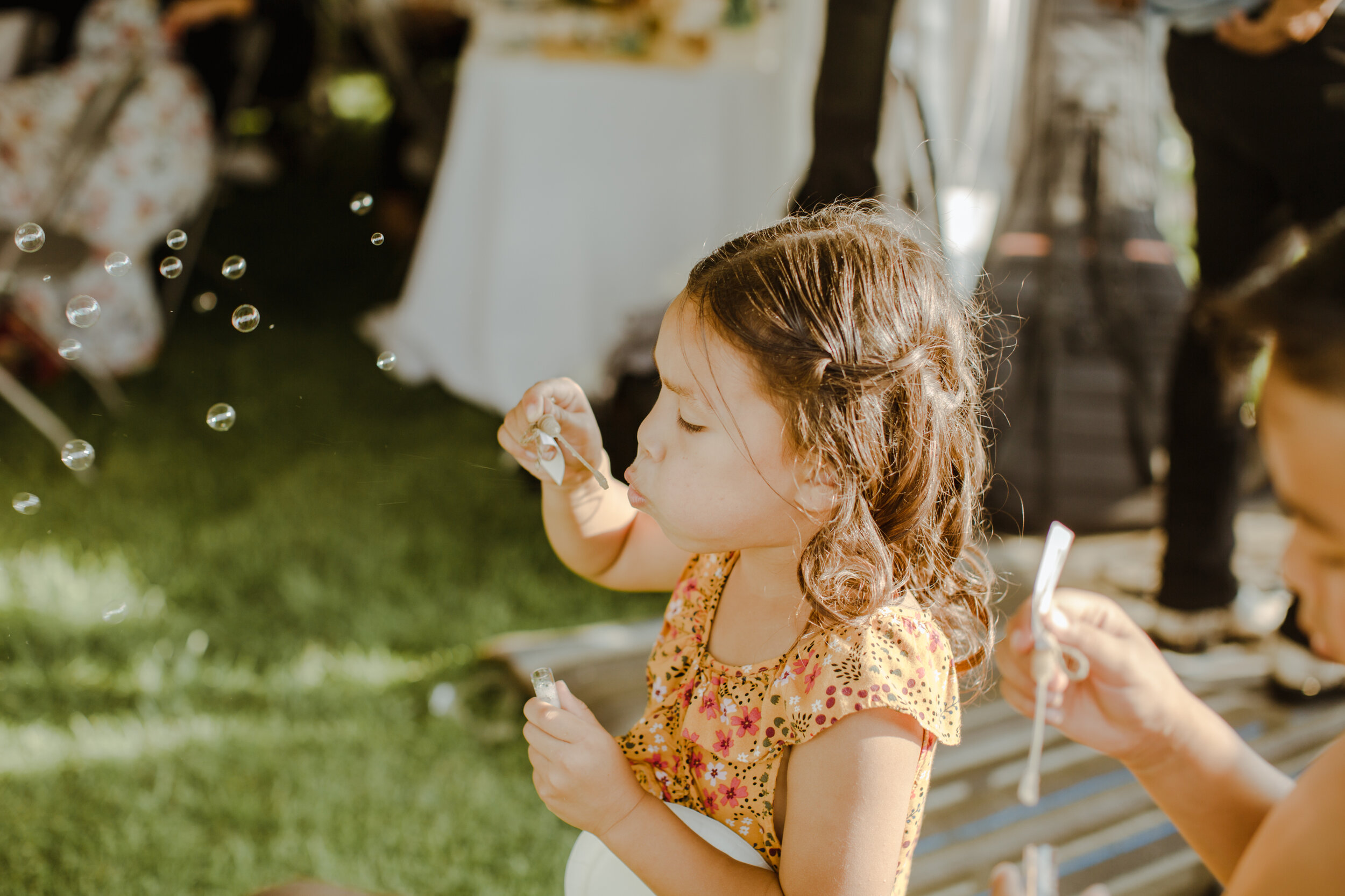Tip #5: Bring bubbles for the kids -