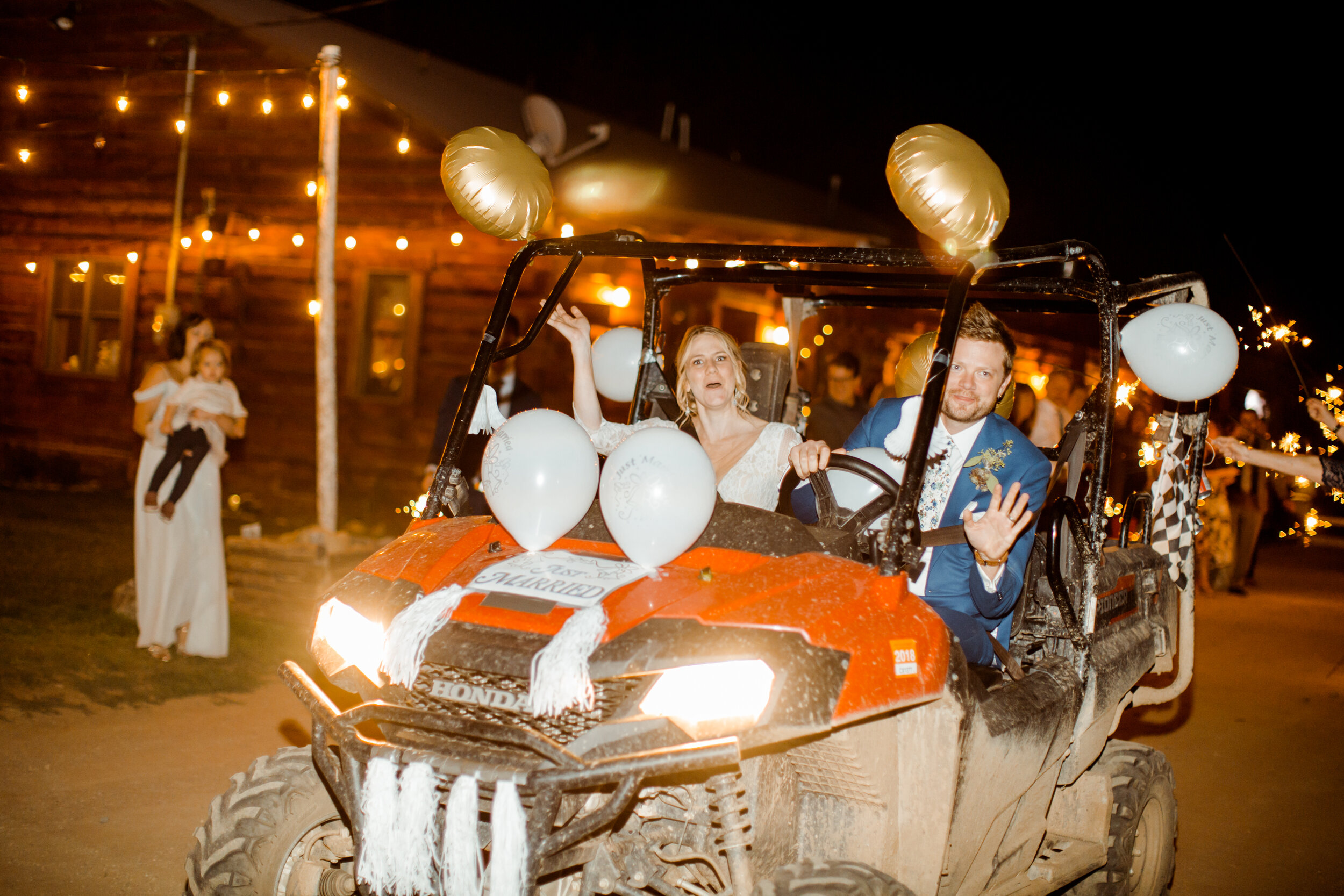 Tip #10: Have a fun get-away vehicle -