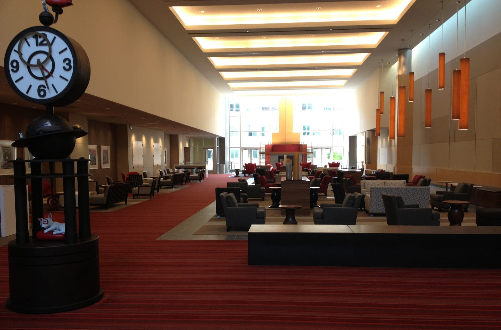 The Great Hall at Target HQ