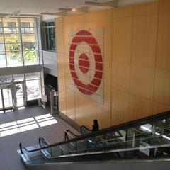 Lobby entrance at Target Plaza North (one of the HQ buildings)
