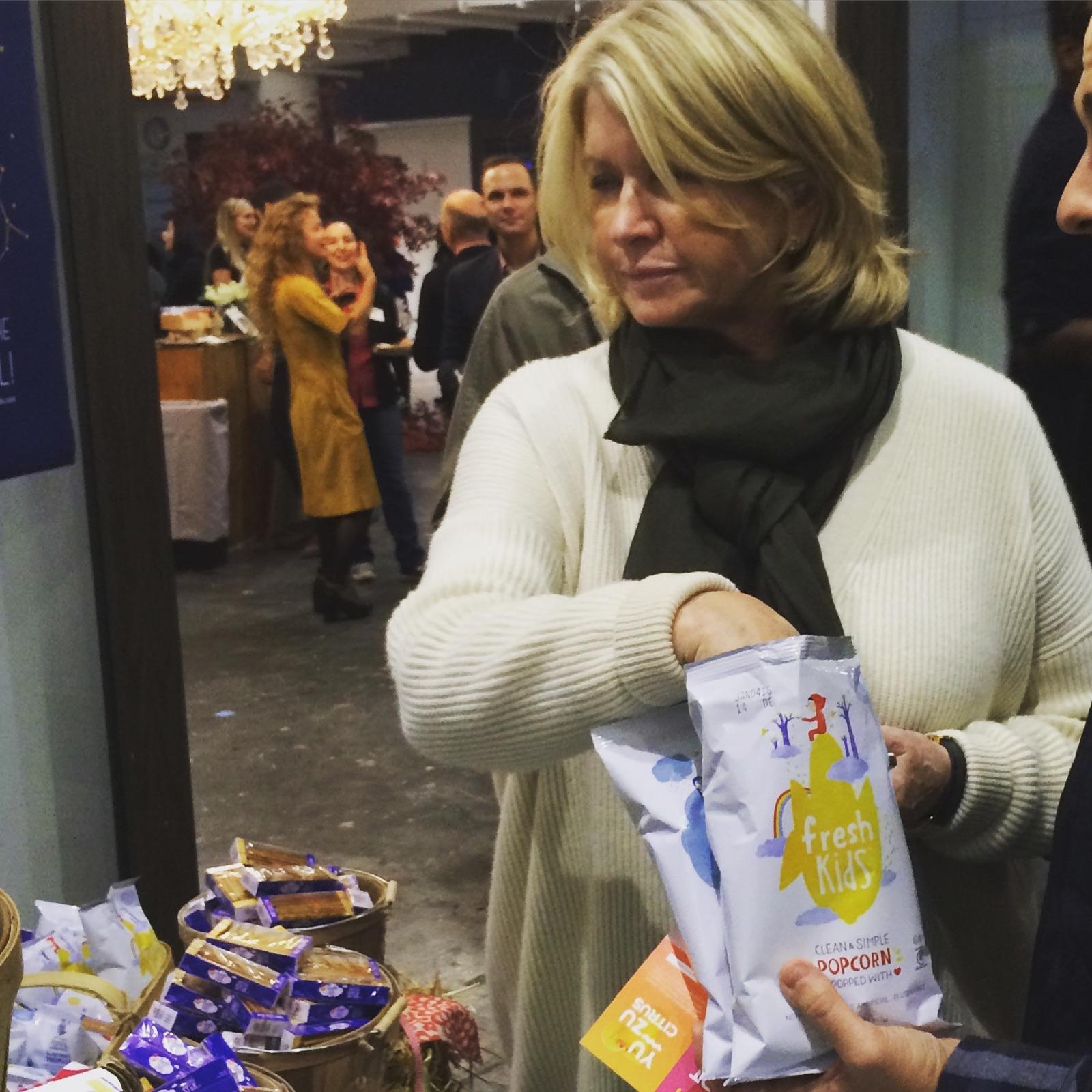 Martha Stewart Eats FreshKids Snacks