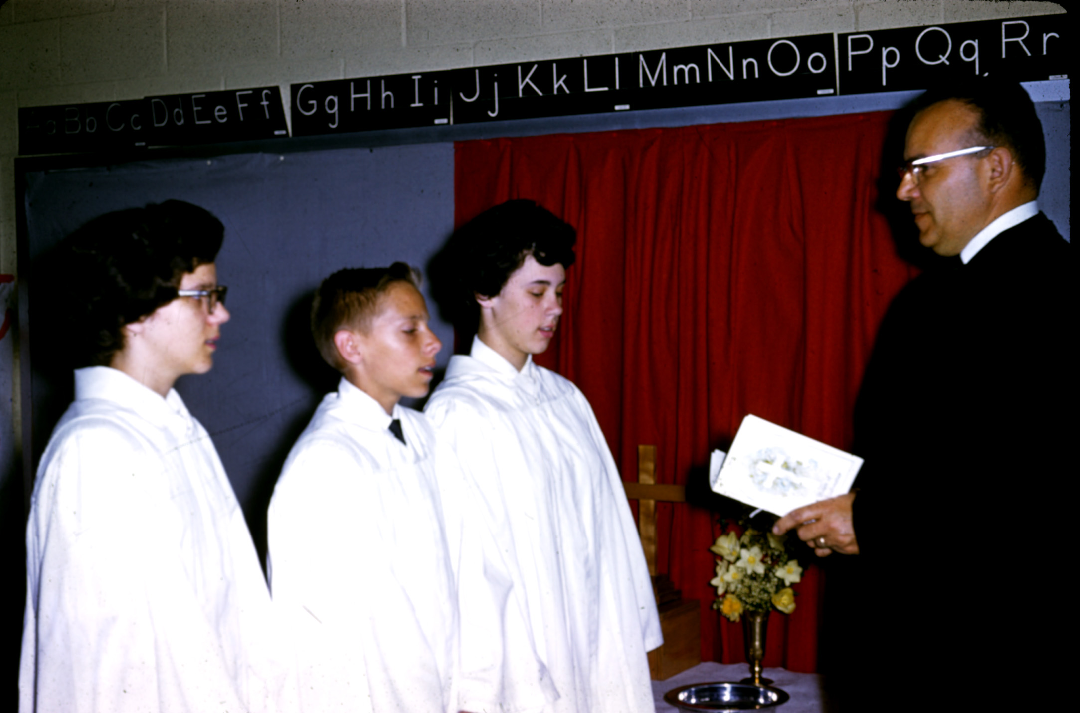 First UCC Midland Confirmation class (1961)