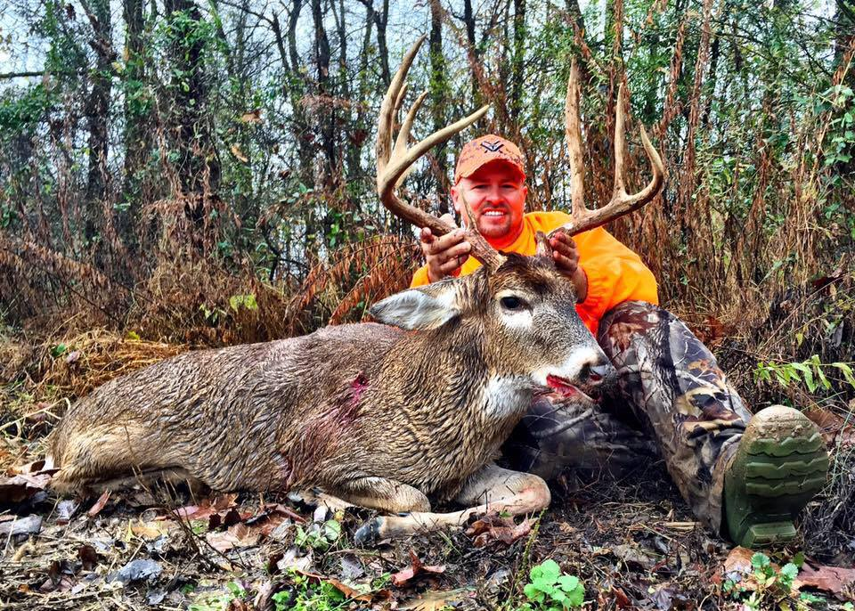 Jonathan Stinson is from Mayfield Kentucky and joined the Final Descent Outdoors staff in 2015. Jonathan is the son of a preacher man! He is active in his home church and helps coordinate the men's ministry of his church. Jonathan is an avid bowhunter and has been blessed with some great ground to hunt. When he isn't sitting in the stand over a corn or soy bean field he is with his wife and three kids.