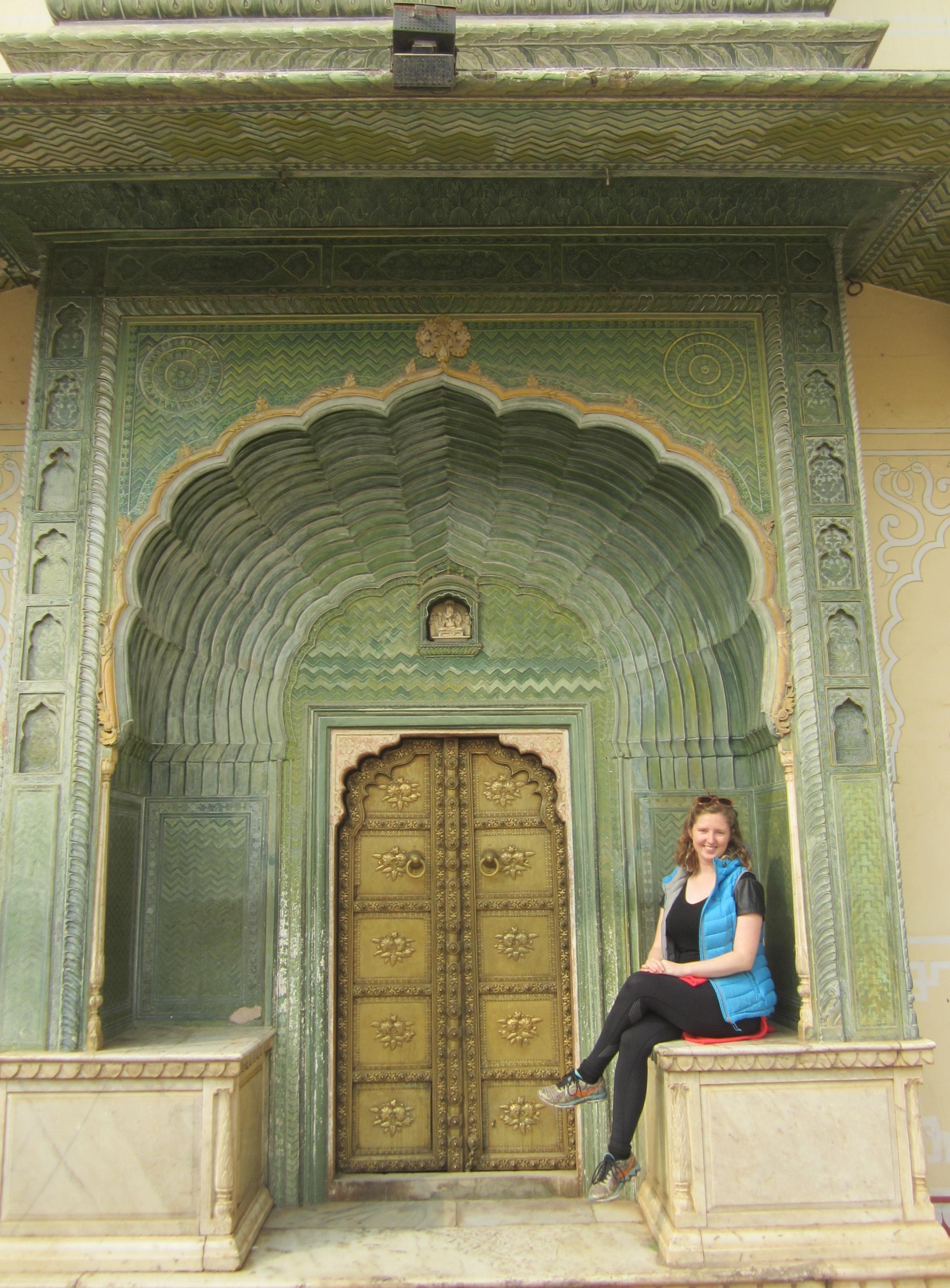 Meg in Jaipur