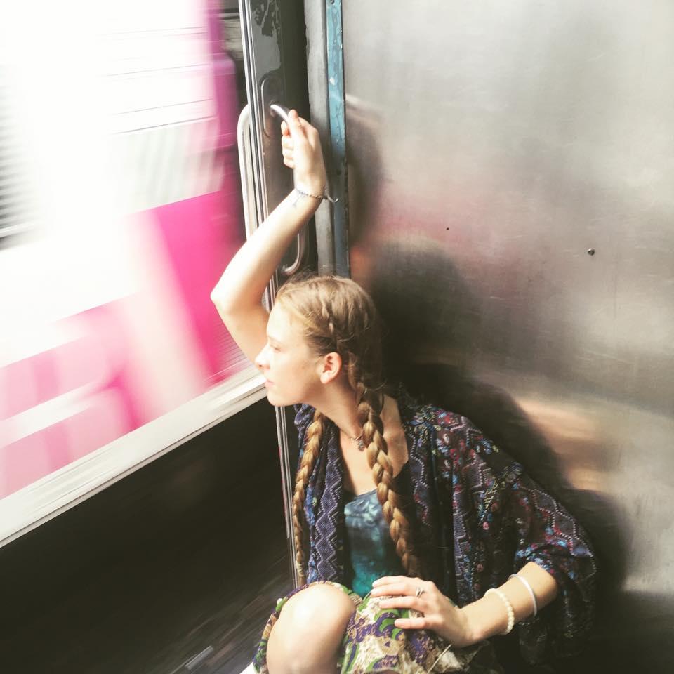 Taking the train to work in Mumbai
