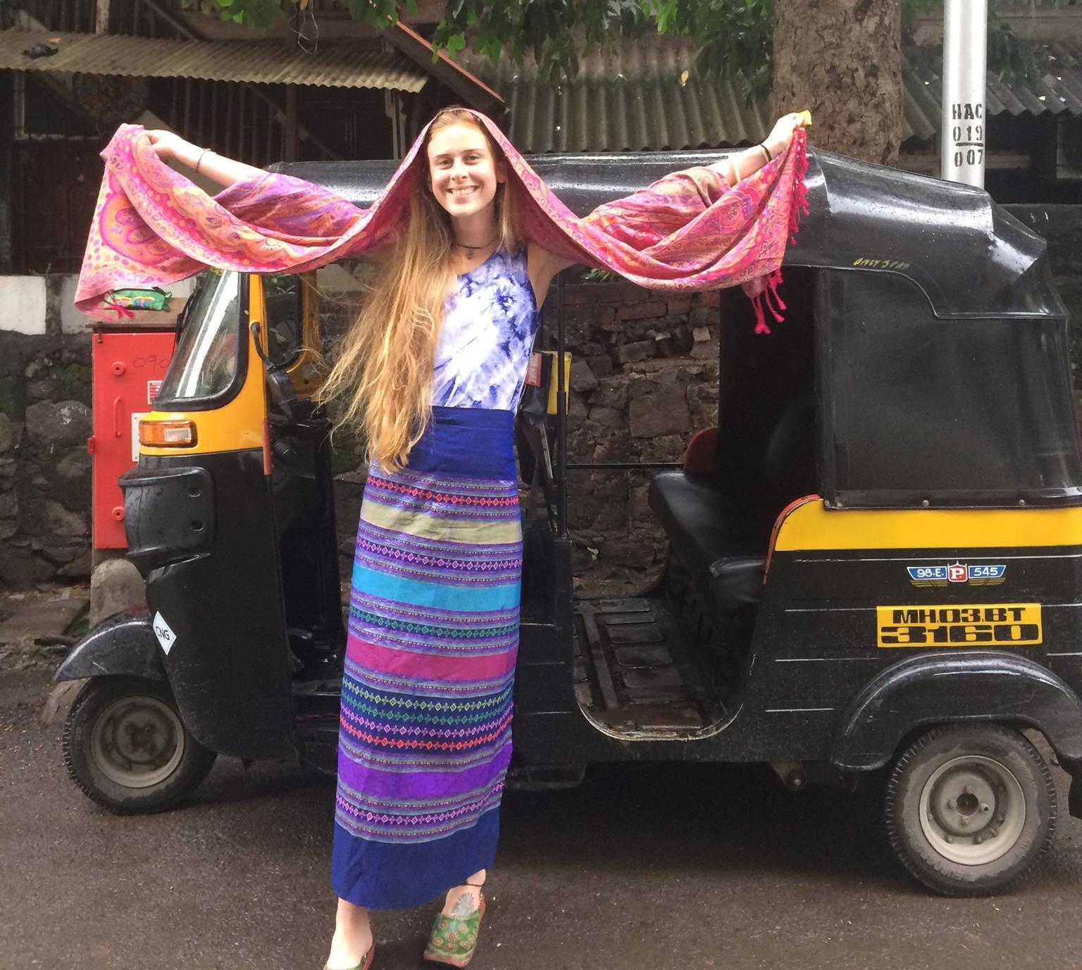 Lauren in Mumbai, July 2016