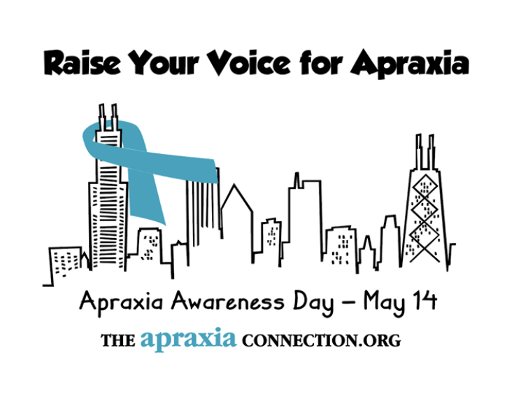 Chicago Apraxia Awareness T-Shirt - $10.00 while supplies last