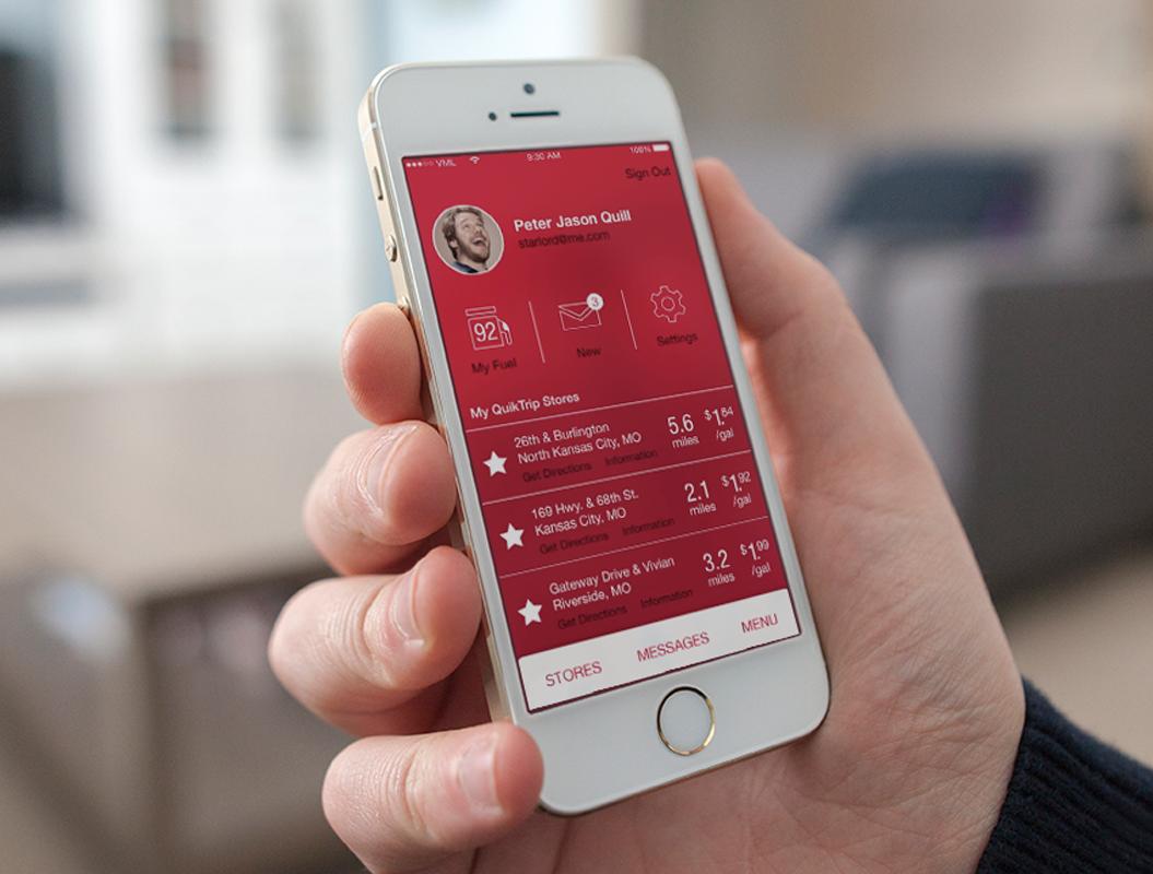 QUIKTRIP MOBILE APP    A regional convenience store leader enters the mobile app market.