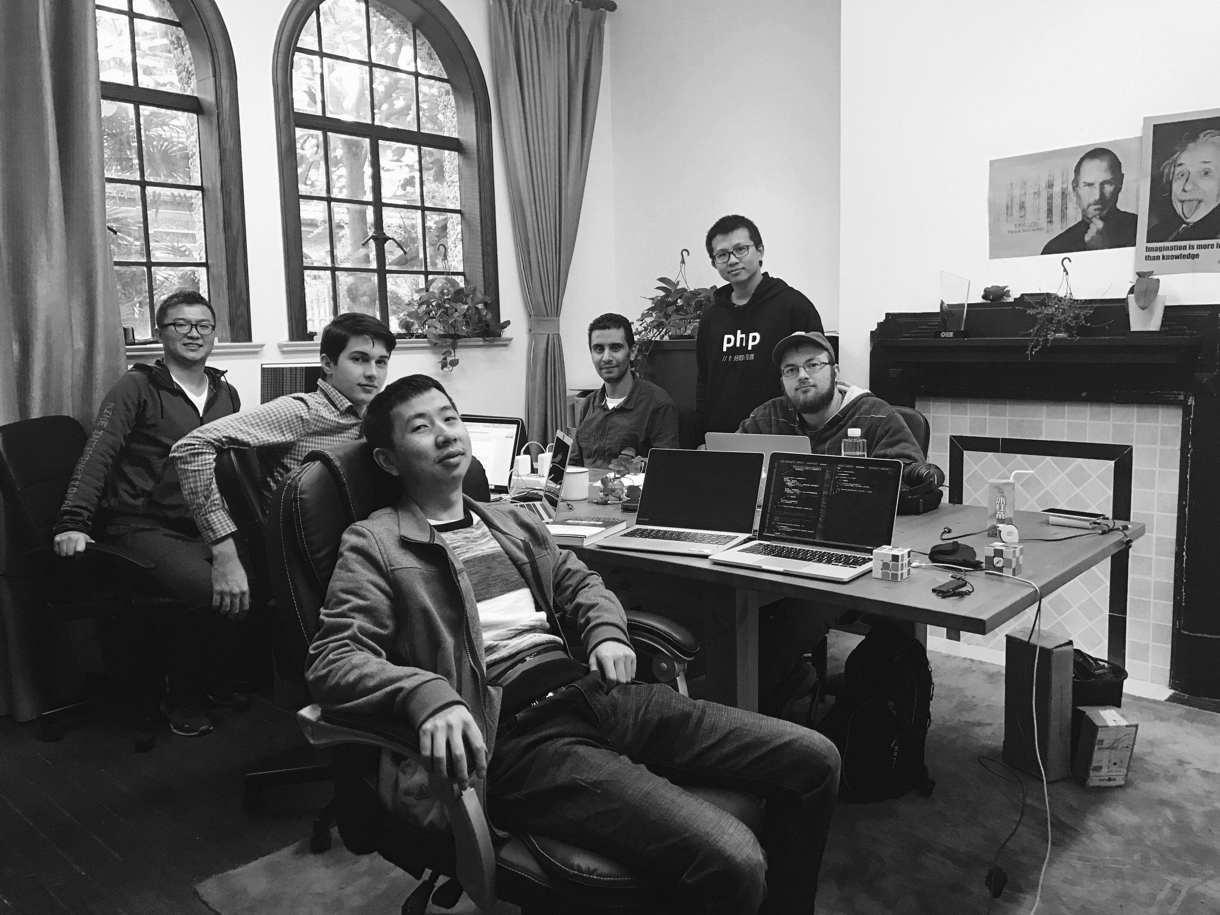 Qtum team members. Photo credit: Qtum.