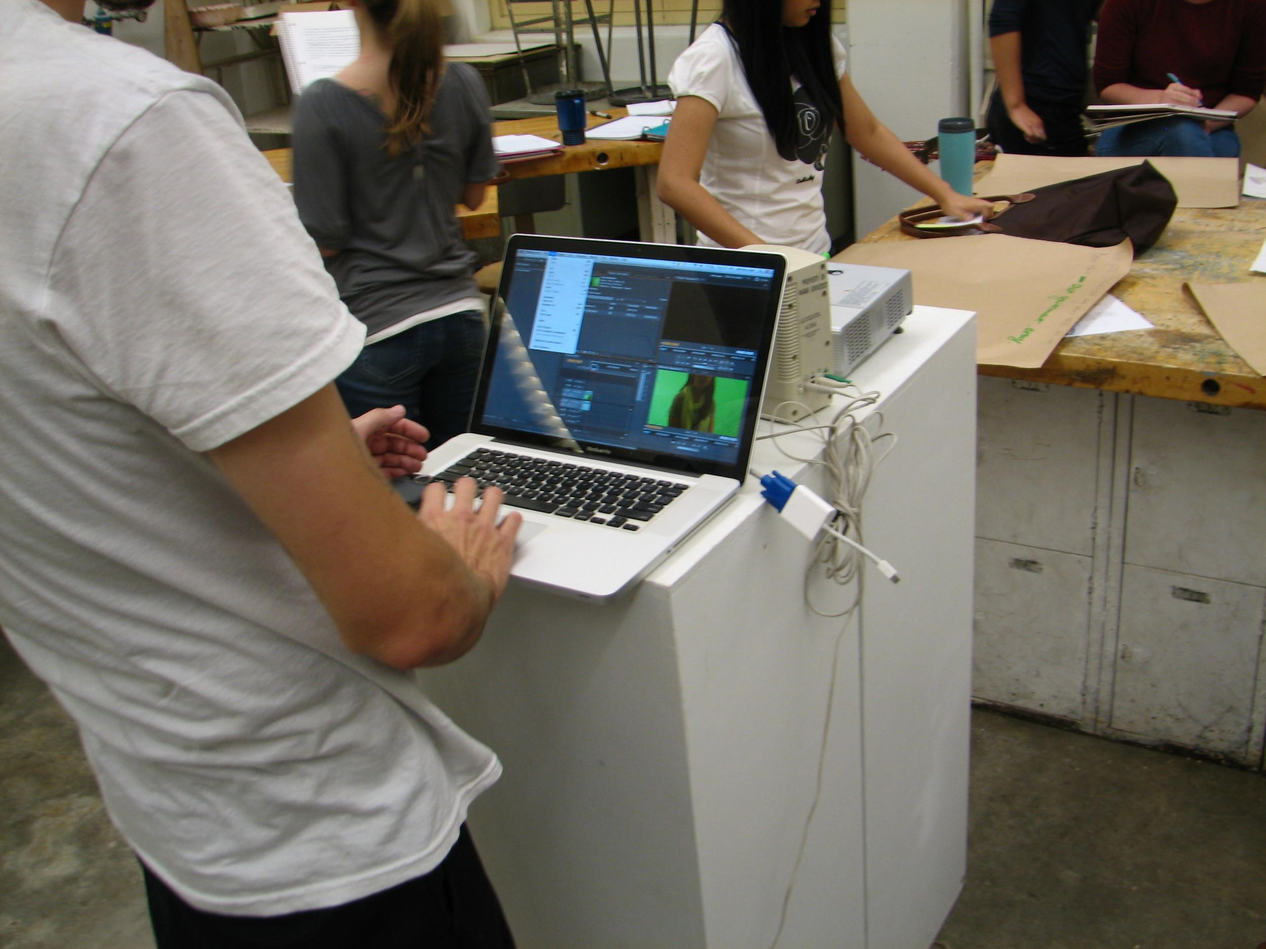 in-studio post-production