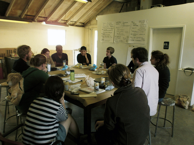 Initial design charrette (photo by Sara Black)