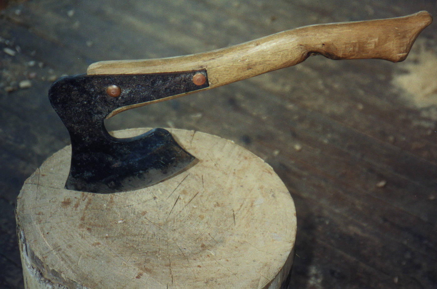a democratic axe from the revered and missed William Coperthwaite