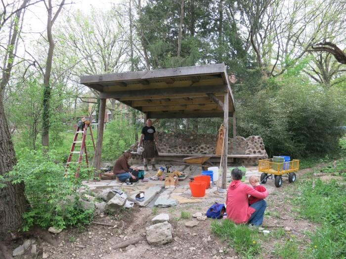 Antioch College Tea Shelter