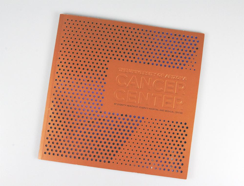 Laser cut book cover
