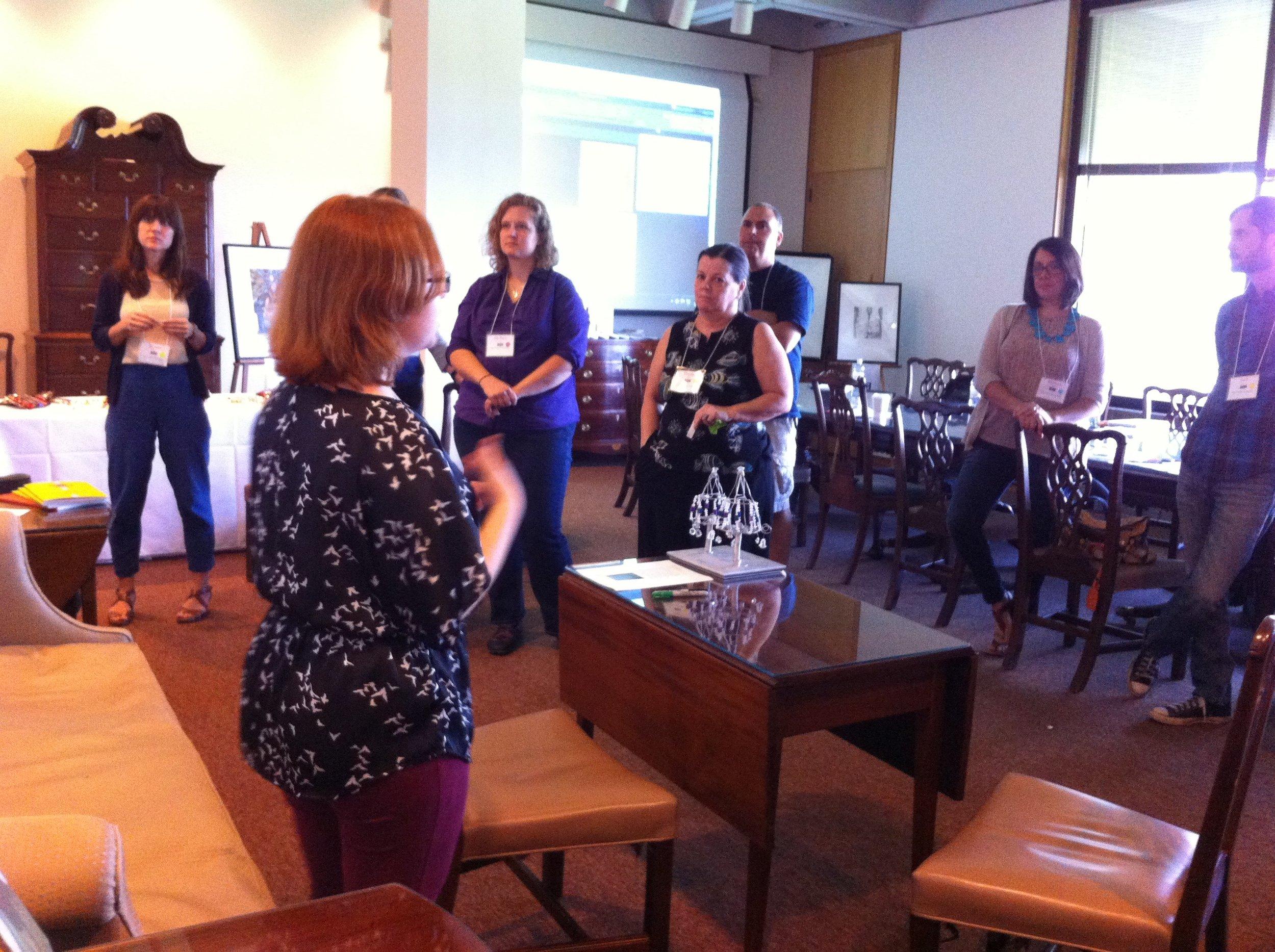 Inviting teachers into the curriculum design process.