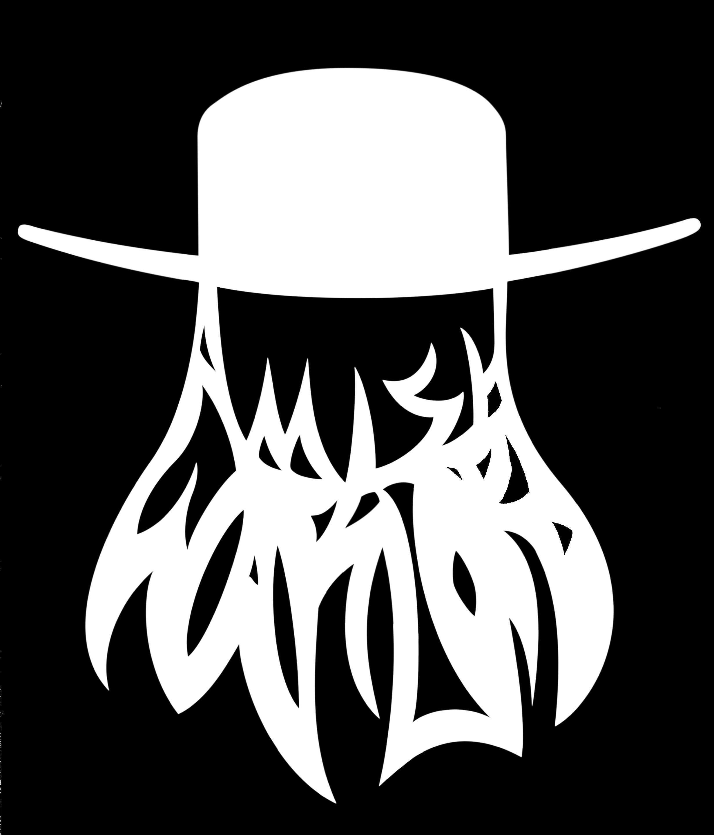 Logo for the sludge metal band Amish Warlord.
