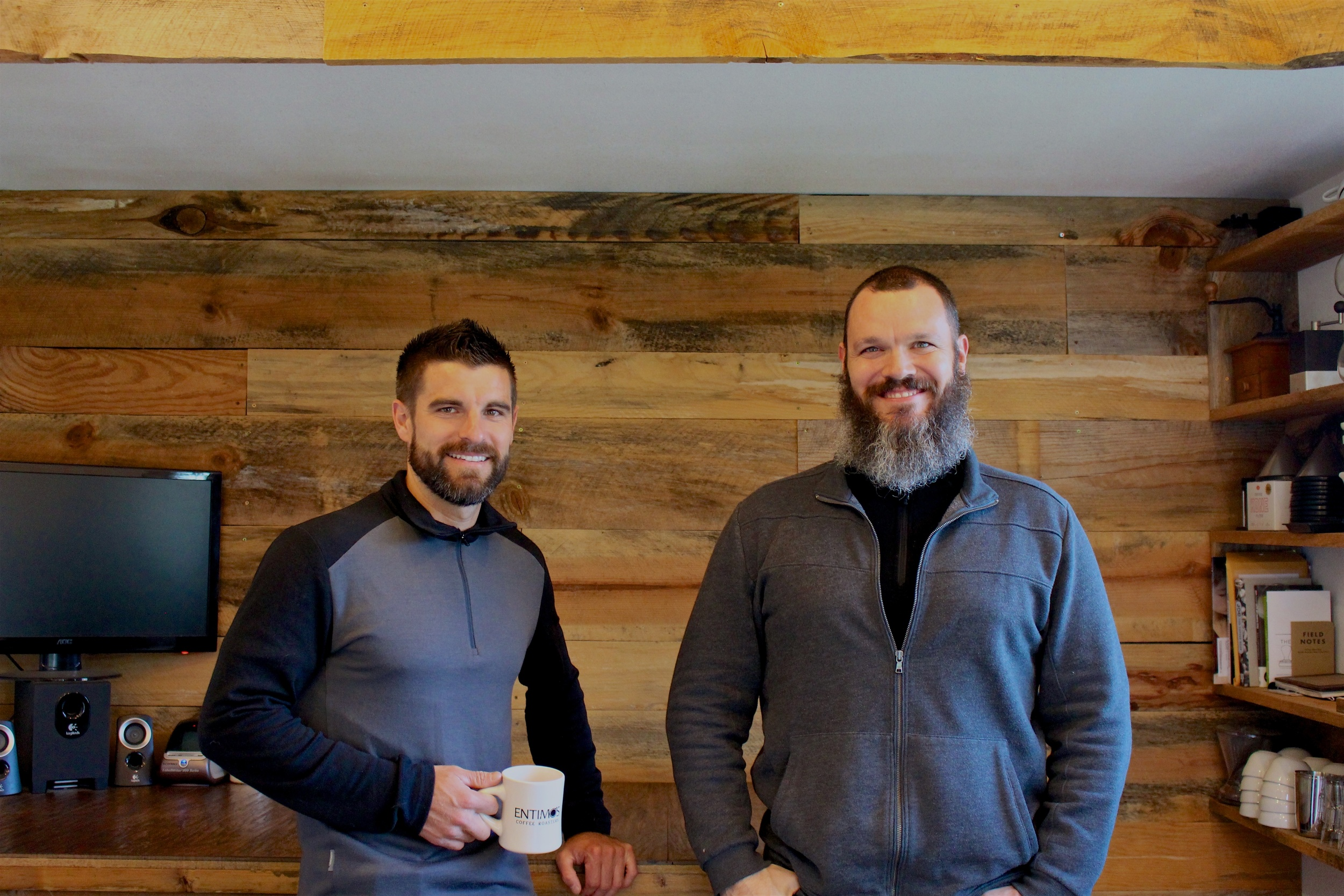 Tim Tubra: Co-Owner, Roaster  //  Matt Dittemore: Co-Owner, Roaster
