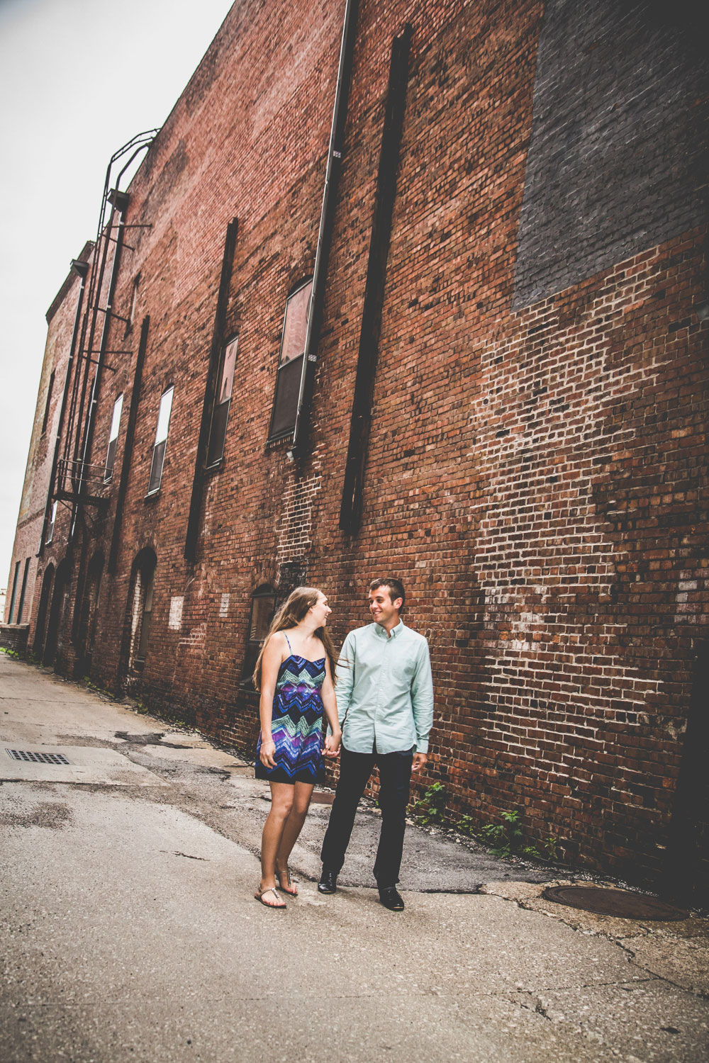 Engagement Photographer East Village Des Moines