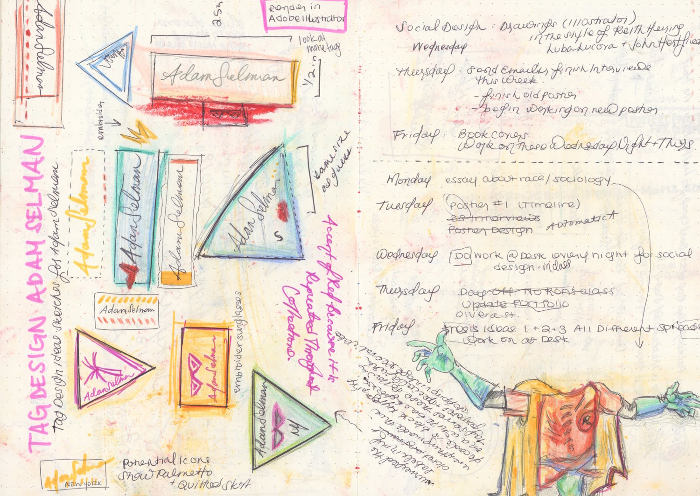 Adam Selman Fashion Brand: Label Design