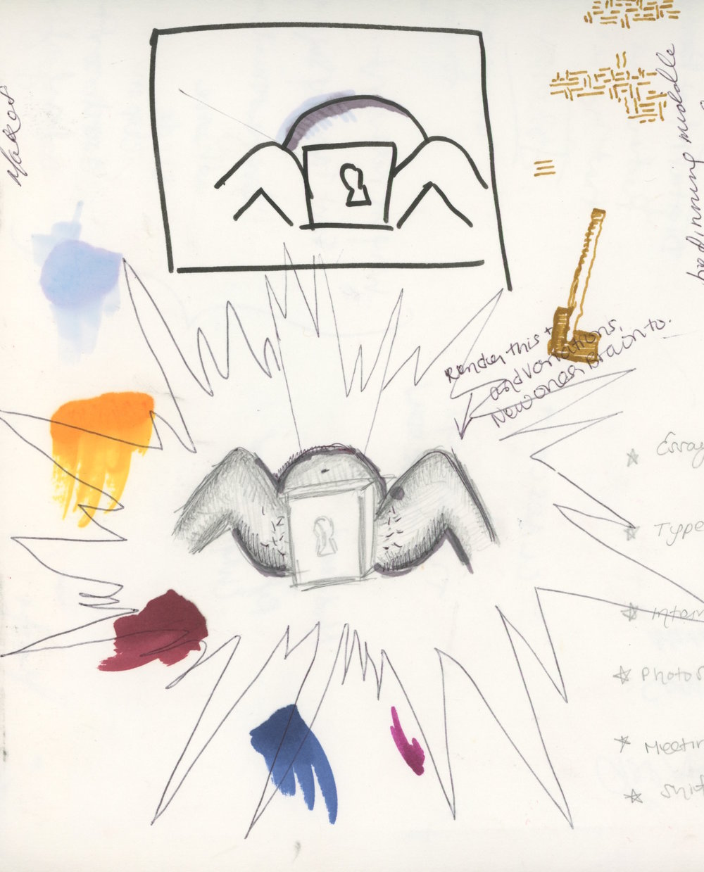 Sketches - Reproductive Rights Visual Metaphors