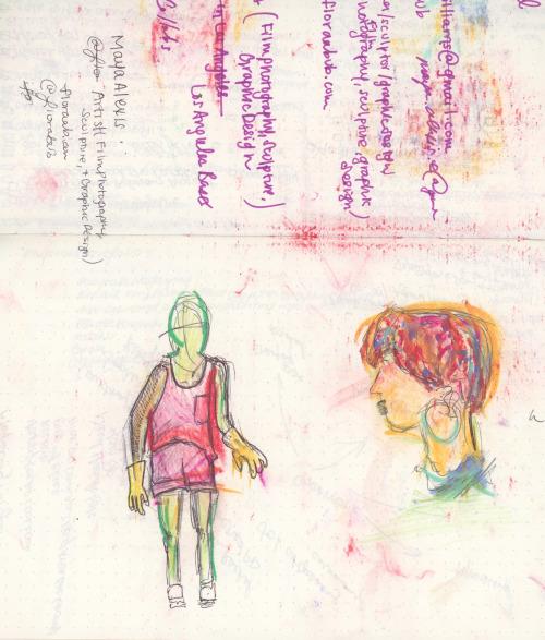 Sketches of Mum
