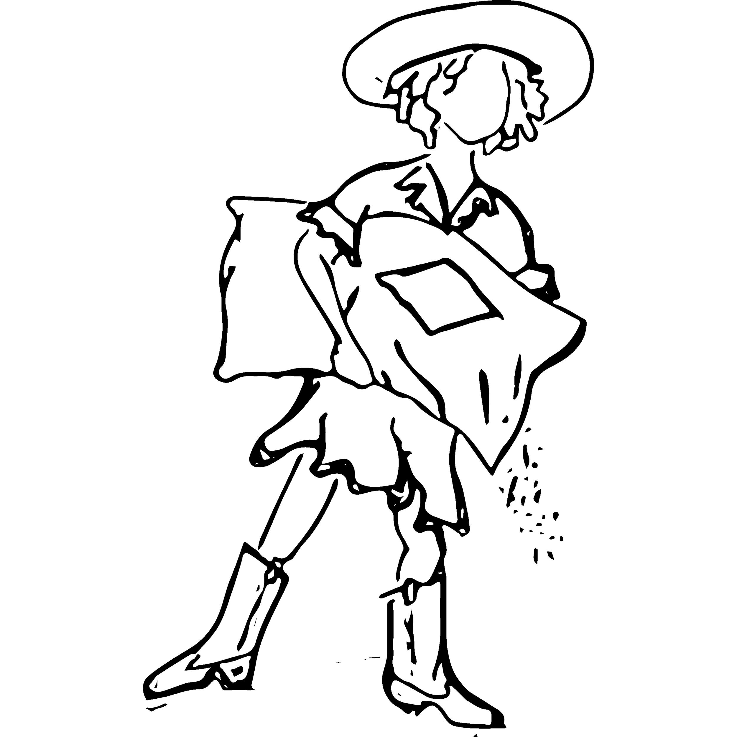 Sugar Cane Girl Logo - ProCreate