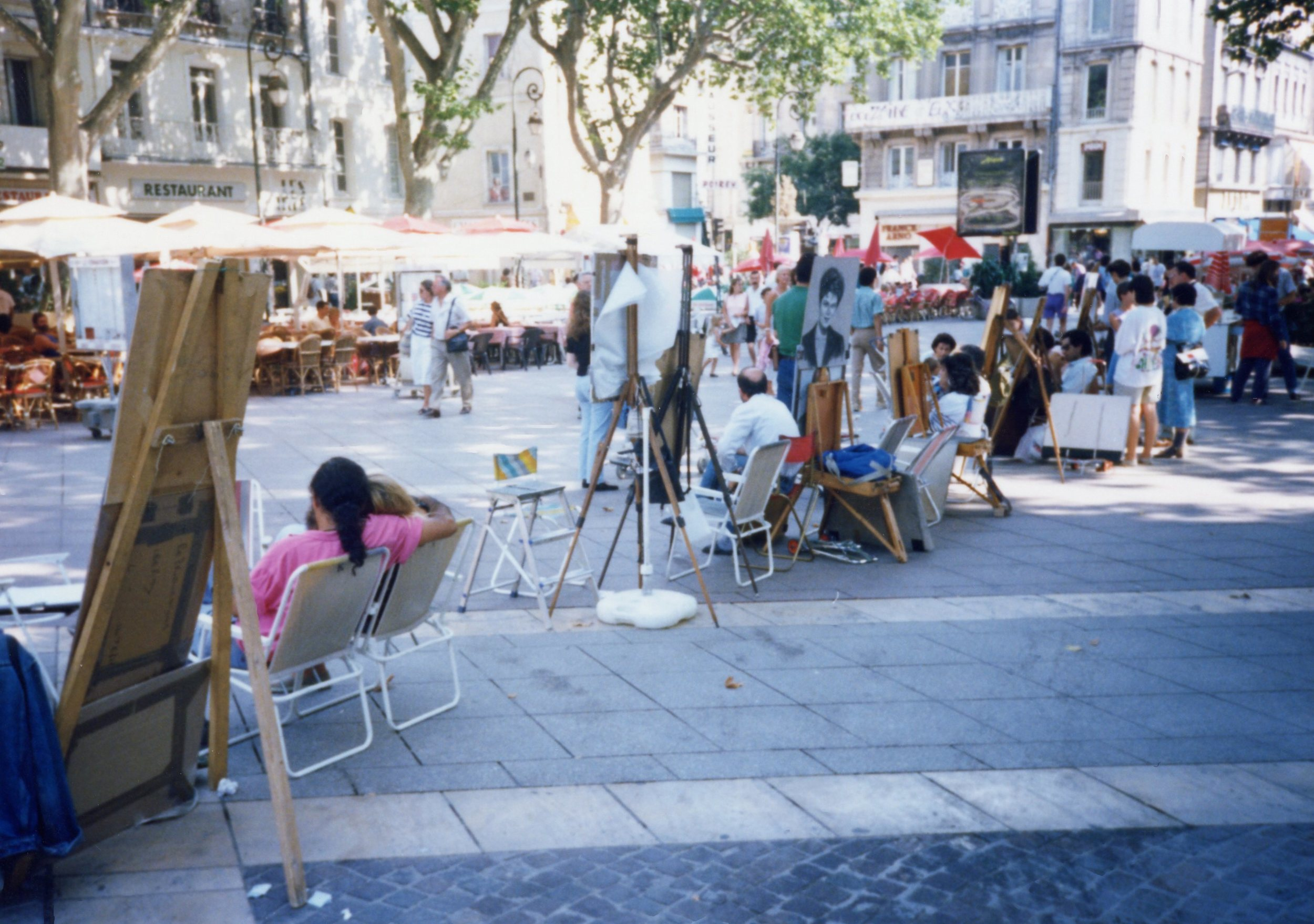 Streets of Avignon, 1990