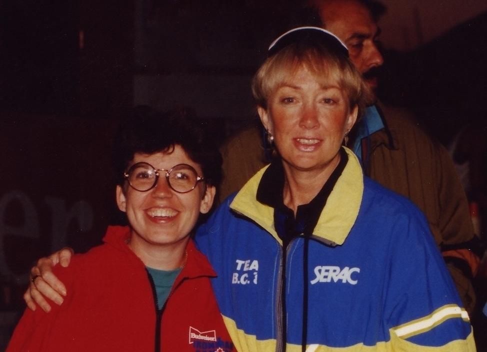 Deb Davidson with Lynn Van Dove