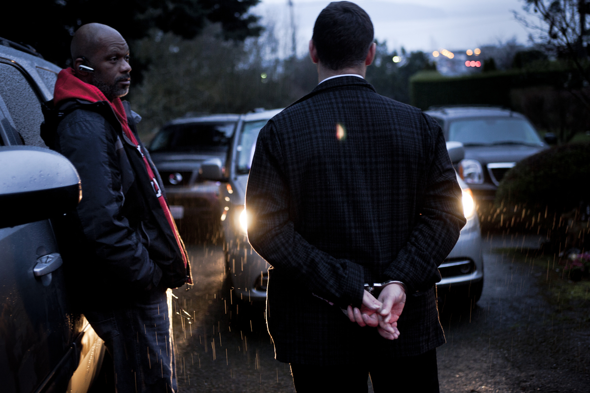 "On March 11, 2013, in Des Moines, Washington, King County Sheriff's Detective Brian Taylor questions a buyer of commercial sex, a ""john,"" who had picked up a young woman from Pacific Highway South, a notorious track for prostitution. The man, on his way home from work, had driven evasively before arriving at the young woman's grandmother's house. Through separate interviews it was determined there was an offer and agreement for paid sex. The SeaTac Police Department Street Crimes Unit, for which Det. Taylor works, emphasizes anti-prostitution patrols in an effort to address the issue of domestic minor sex trafficking, or the sale of children for commercial sex by pimps and gangs. In this instance, with no immediate evidence of a pimp (exploiter), the sex buyer and the young woman, both adults, were cited and released. Prostitution is illegal in the state of Washington."