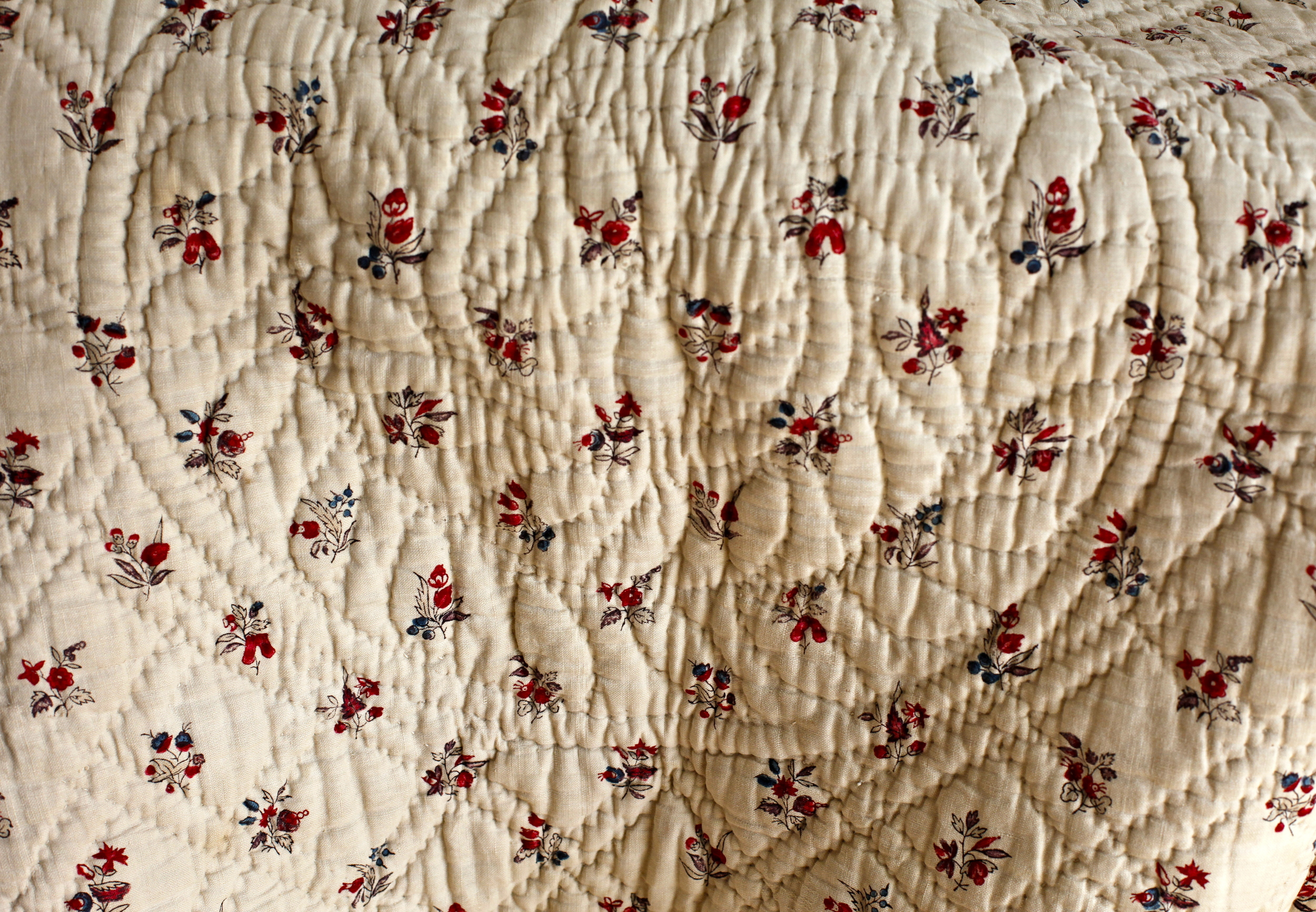 C18th French quilt centre