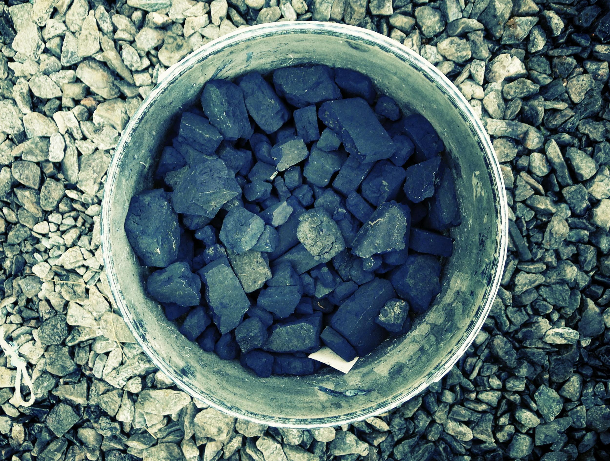 Natural Indigo rocks from Bangladesh