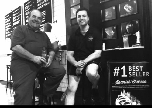 THE RODRIGUEZ BROZ   These legends custom make some of The Hot Dog Man's absolute top quality sausages. The family hail from a long line of artisian butchers from the region of Llerena in Extremadura, Spain. Rogelio Rodrigues Snr and his wife arrived in Sydney during the 1970.The Rodrigues Brothers supplies The Hot Dog Man with their #1 best seller, The Spanish Chorizo.
