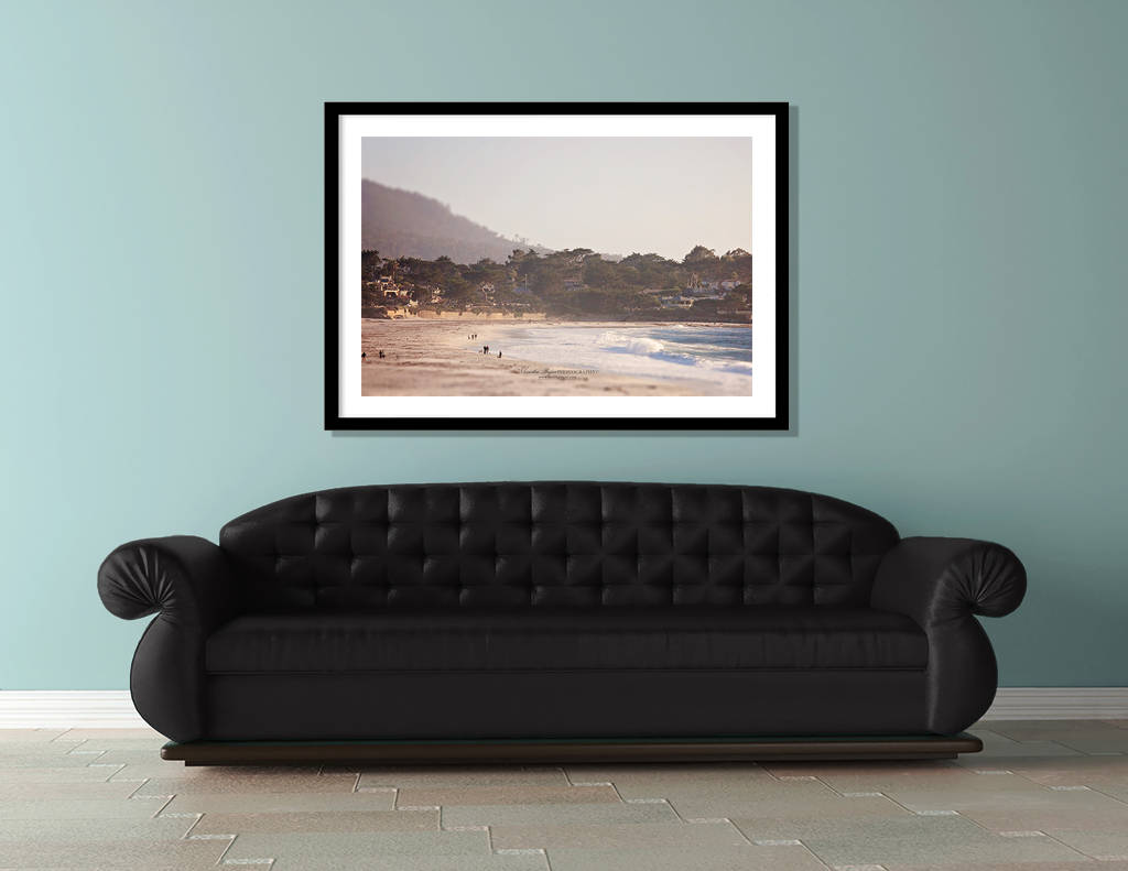 Ocean Photography Beach Art Coastal Decor Landscape Photography Nature Nautical Decor Blue Seascape 8x10 Carmel Monika Bajor Photography