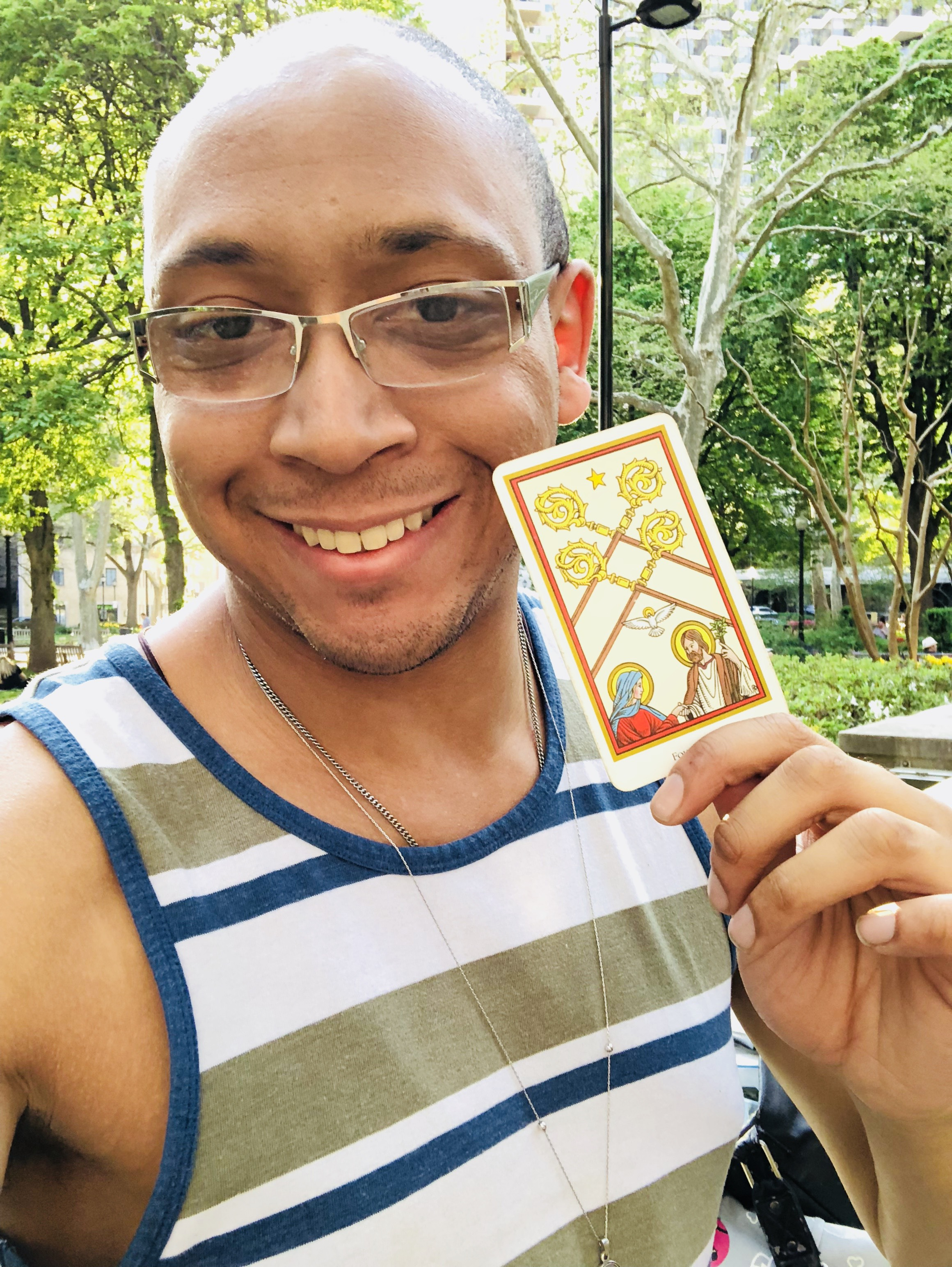 Intuitive Tarot Readings with Michael McQueen of Sacred Eyes Tarot