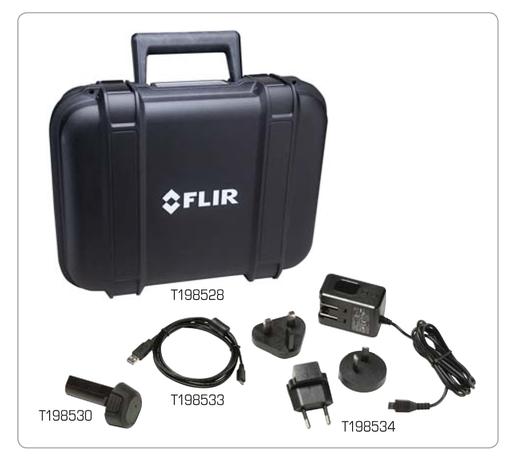 FLIR E-8 Hard Case And                     Accessories
