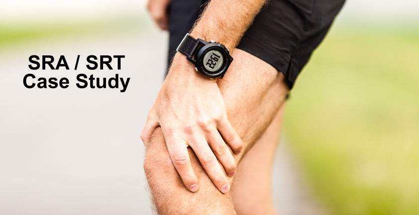 SRA/SRT Case Study - Knee pain, knee edema and knee swelling
