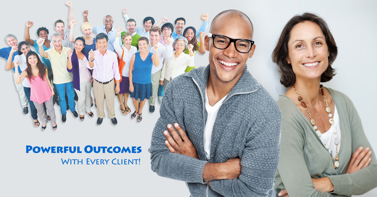Powerful outcomes with every client