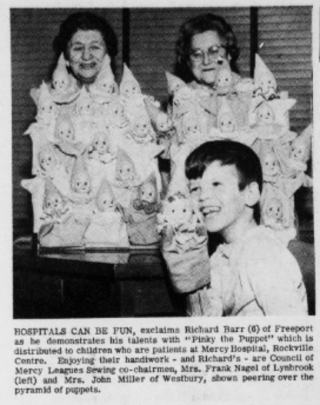"""Photo from the Helm Independent Review (Lynbrook, NY) titled """"Hospitals can be fun"""" (The Helm independent review., May 12, 1966, Page 8, Image 8    ©NYS Historic Newspapers )"""