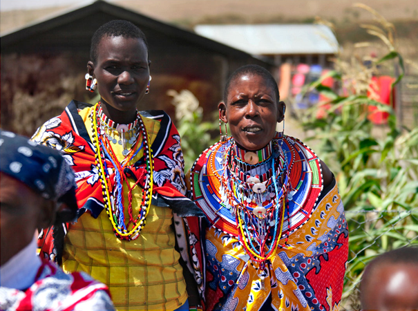 Beadwork offers an important opportunity opportunity to Maasai women. Traditionally, they are uneducated, married at the age of 13, and completely financially reliant on the men or government aid. Their skills with beadwork are a chance for self-sufficiency.