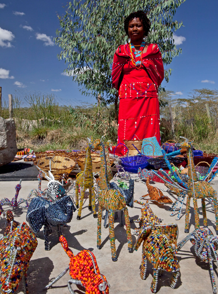The Dupoto Group consists of 25 Maasai women who hand-make all of the beaded items we sell. This is their primary source of income, and as a group they support more than 125 children.