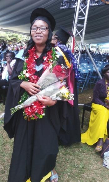 Rachael's Graduation Ceremony