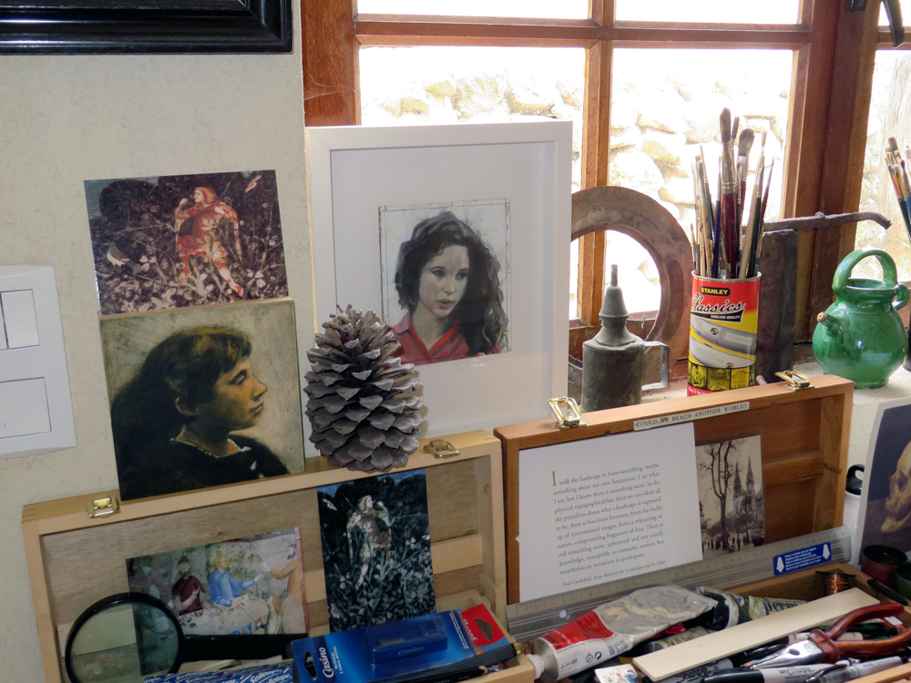 Les Tapies drawing and painting studios