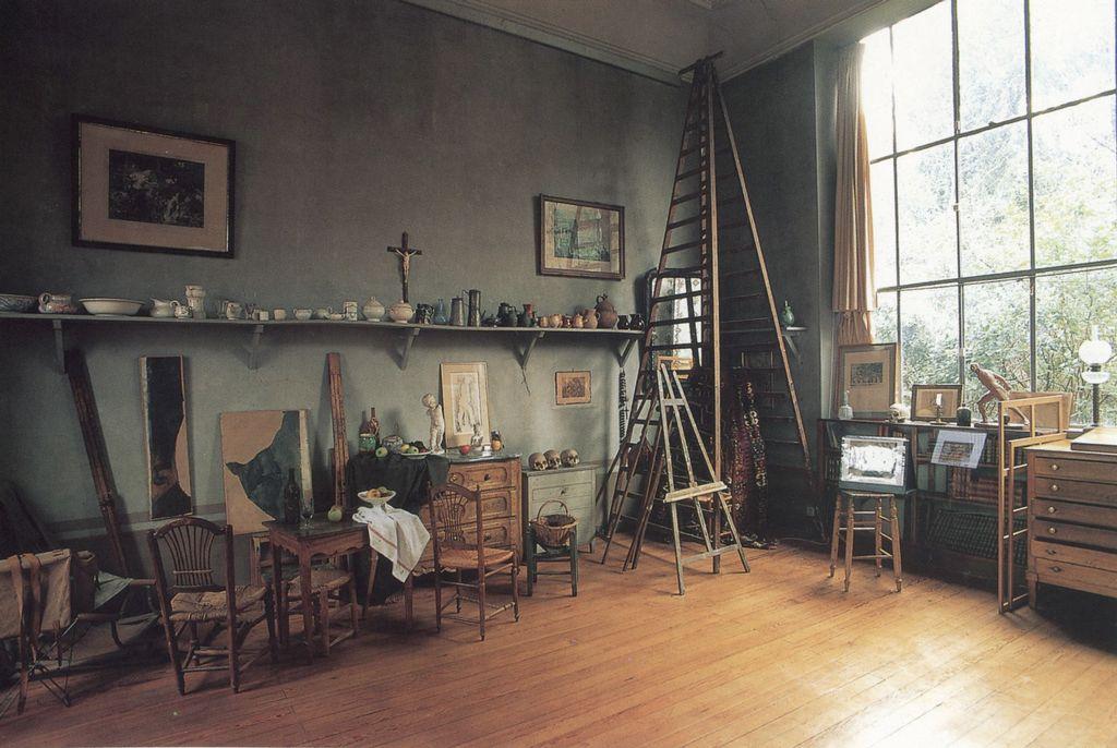 Cezanne's studio in Aix-en-Provence.