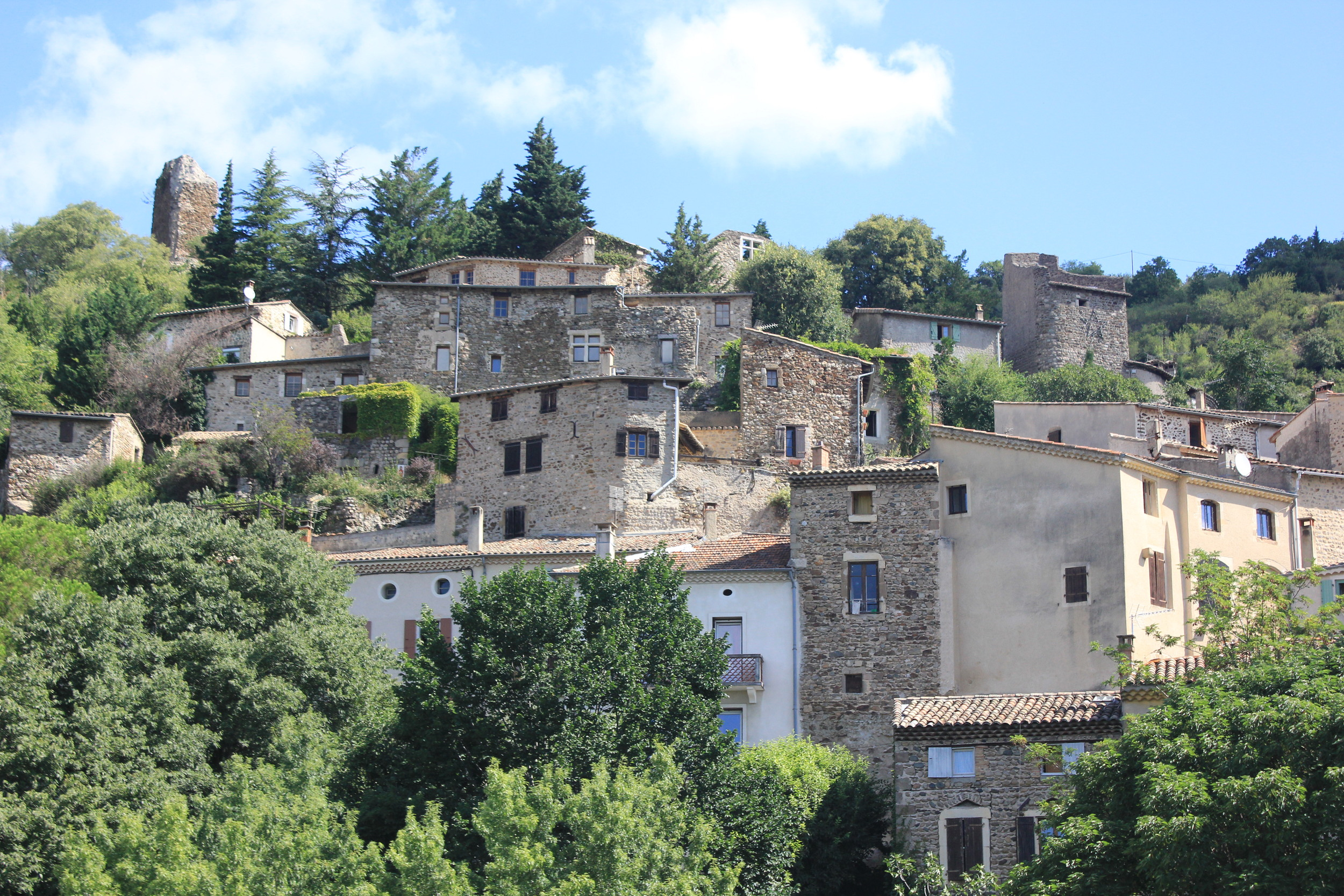 The Medieval village of Beauchastel