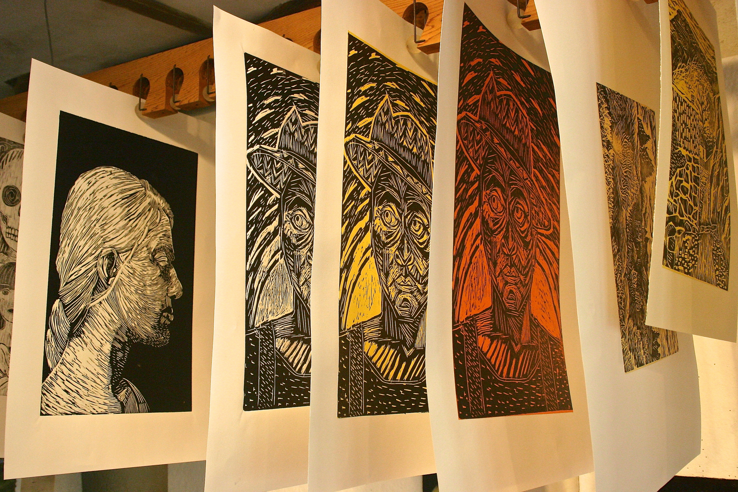 printmaking courses at les tapies summer programs