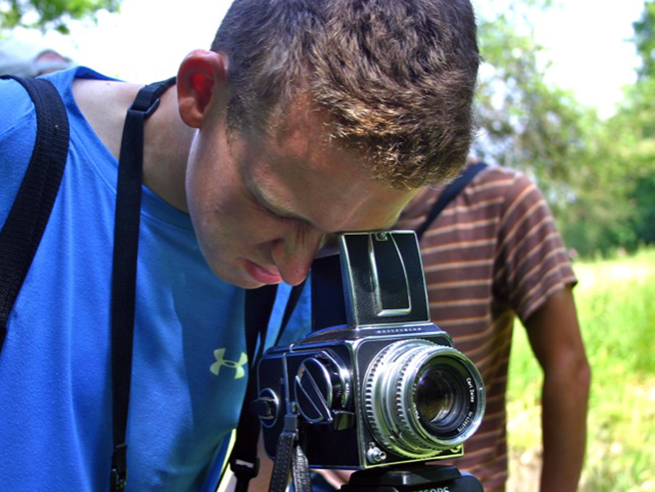 Students explore a range of cameras and film formats