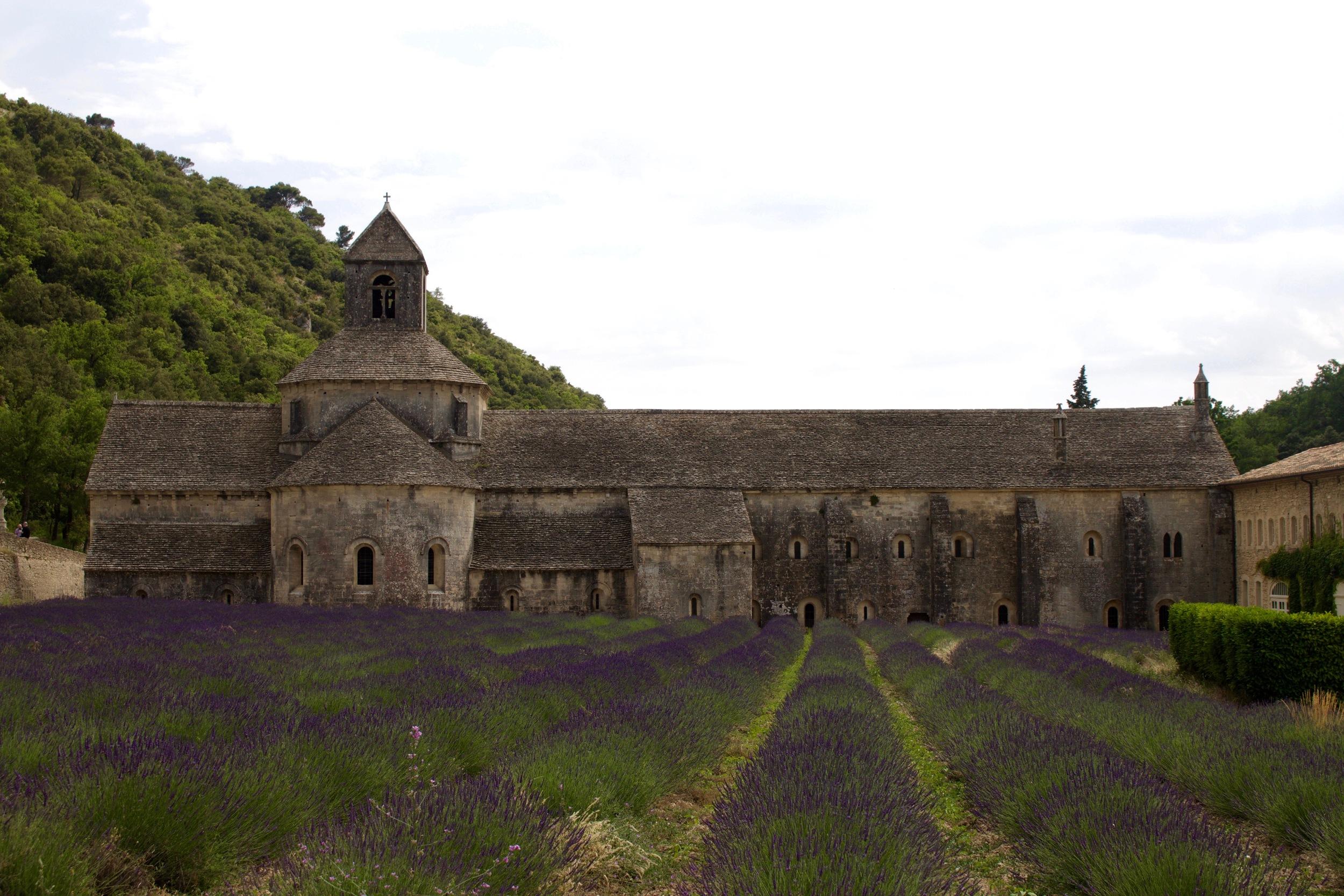 The Abbey of Sénanque.