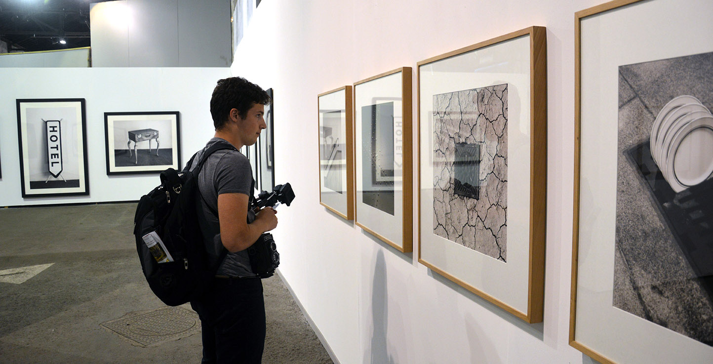 photography student excursion to les recontres d'arles exhibition