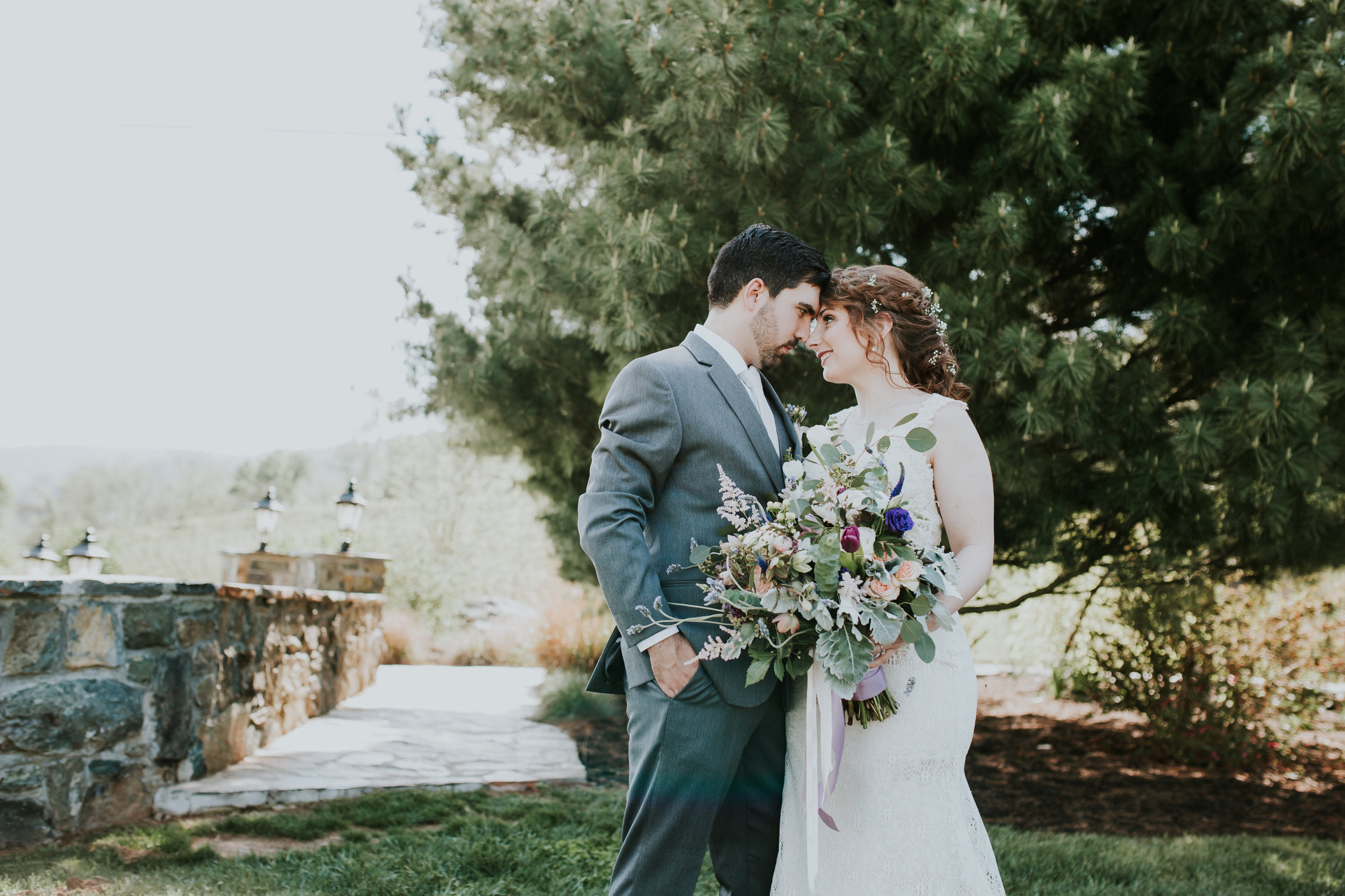 Bluemont Vineyard Wedding Photo - VnessPhotography